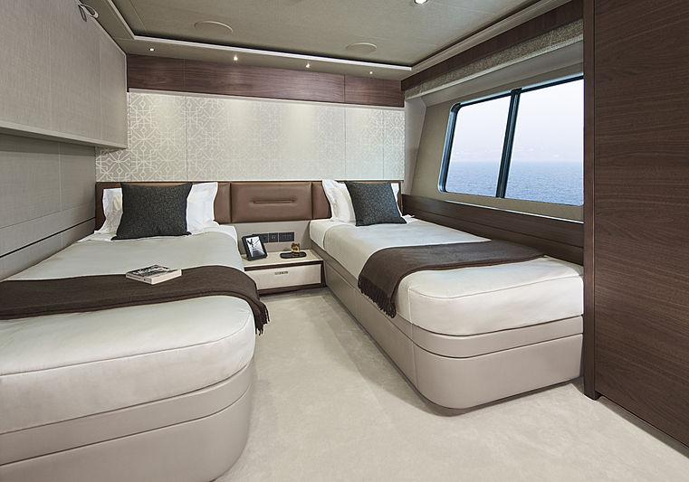 Samba yacht guest stateroom