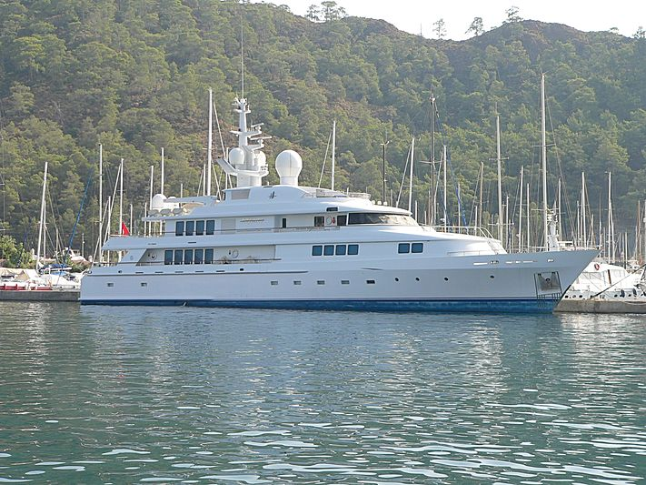 Airwaves yacht seized by Turkish Government in Port of Marmaris