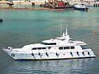 Antares Star yacht arriving in Monaco