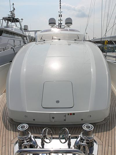 Sun Glider II yacht deck