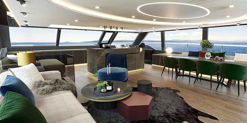 Sunreef 80 power interior design