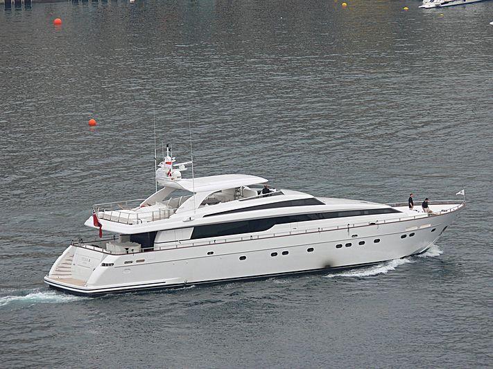 ARGO B yacht Sanlorenzo