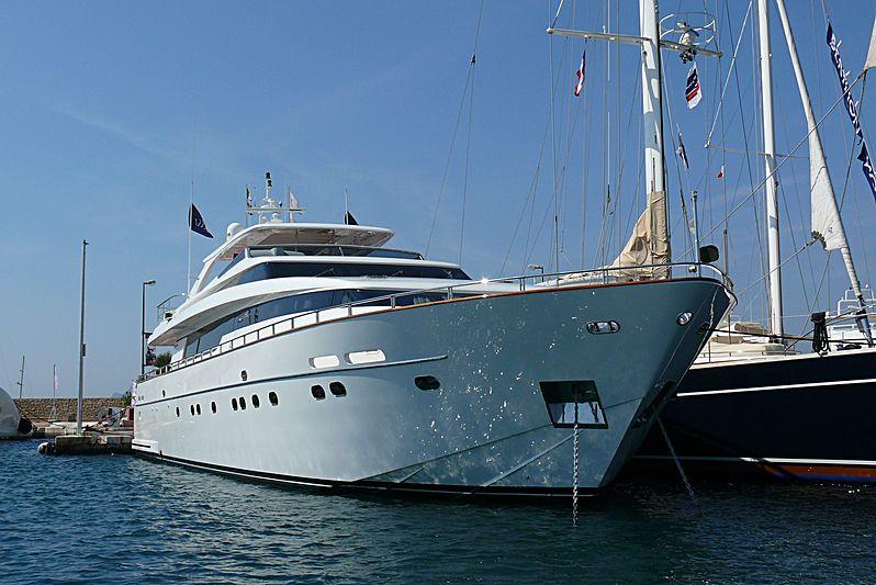 Titan II yacht in Port Canto