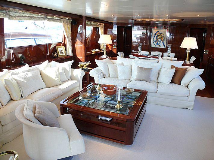 Titan II yacht interior