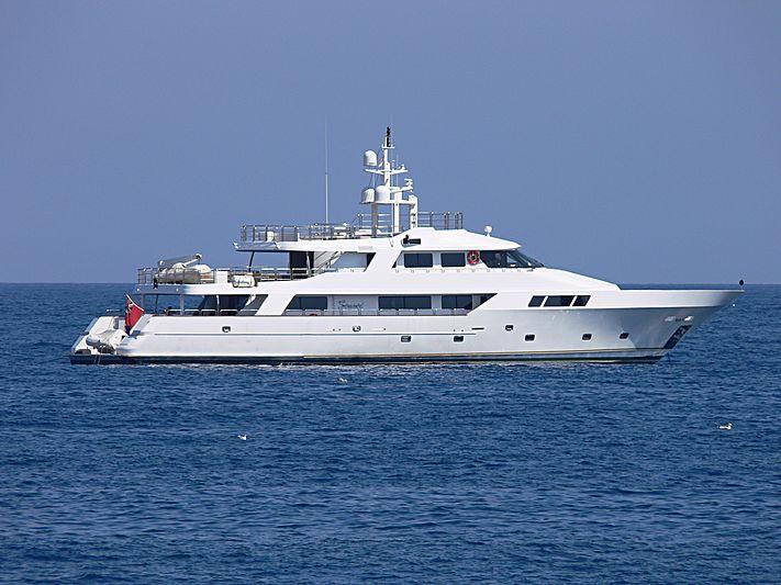 Sensei yacht anchored in Saint-Jean-Cap-Ferrat