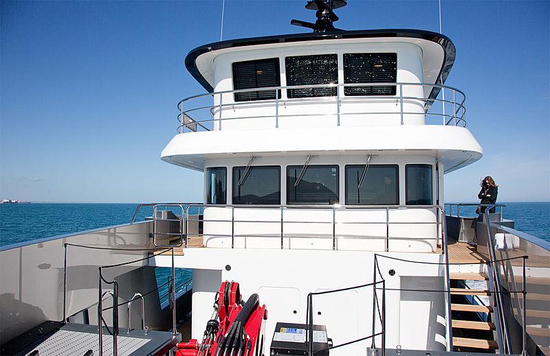 Audace yacht