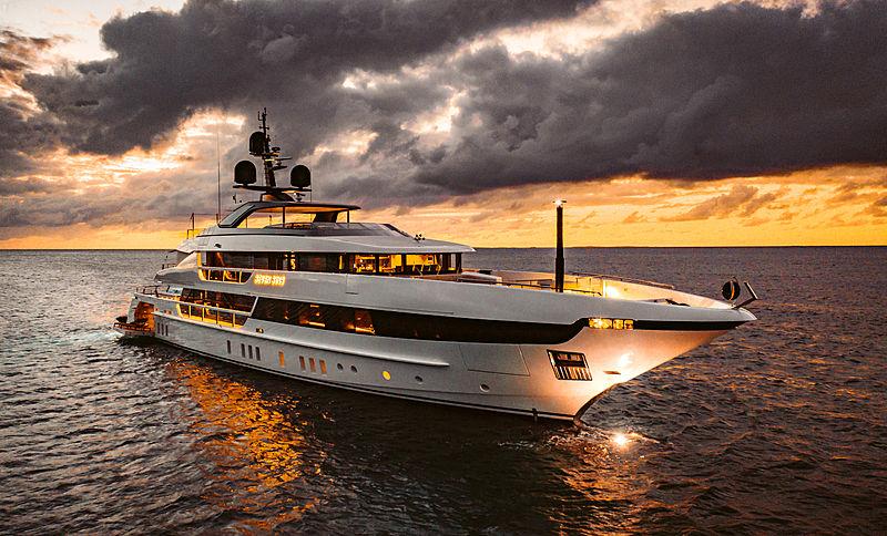 Seven Sins yacht in Anguilla