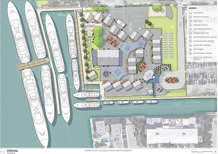 Fort Lauderdale new superyacht village and marina