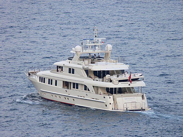 METSUYAN IV yacht CBI Navi