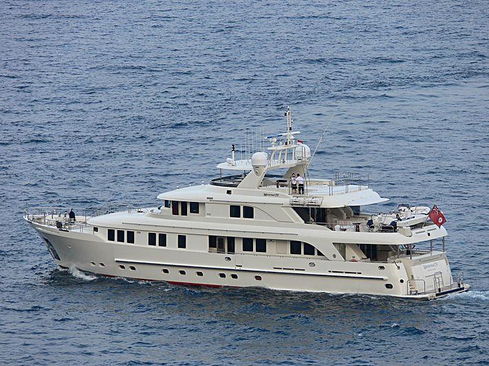 Metsuyan IV yacht leaving Monaco