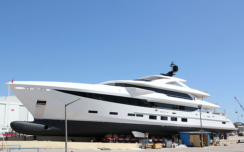 HSY 56m yacht ready to launch