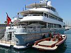 Fortunate Sun yacht in Antibes
