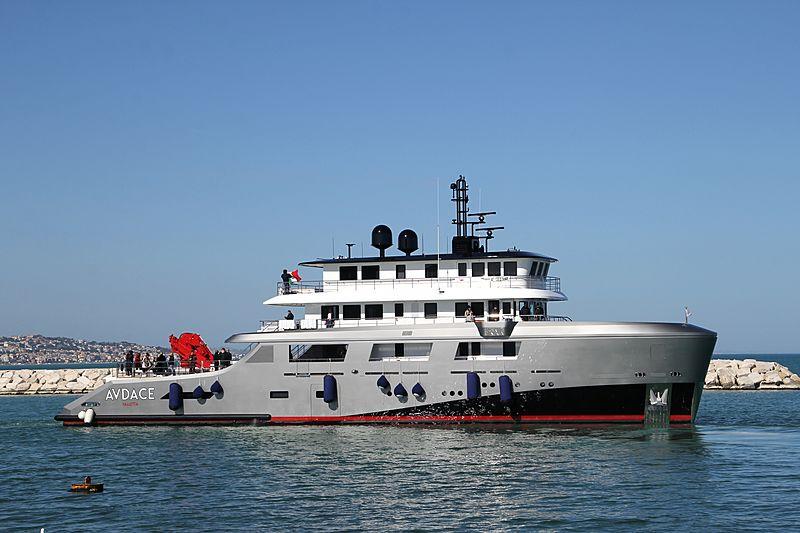 Audace yacht in Ancona