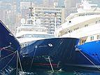 Blue Scorpion yacht at the 2006 Monaco Yacht Show