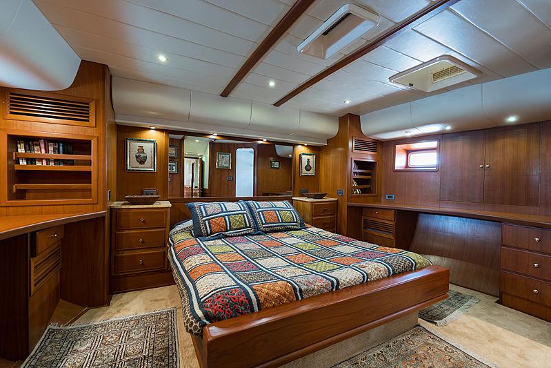 Taronga yacht cabin