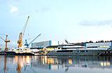 Mogambo and Sapphire at the Nobiskrug shipyard