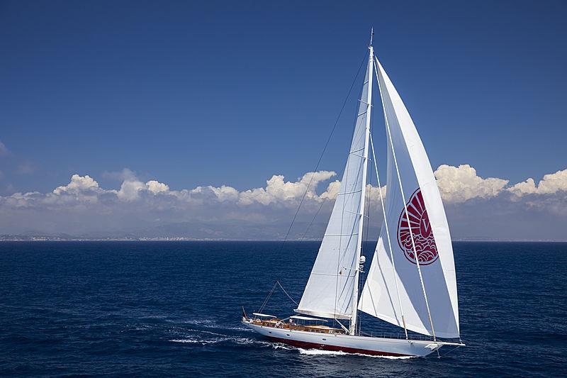 Vijonara yacht sailing