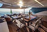 Agora III yacht deck