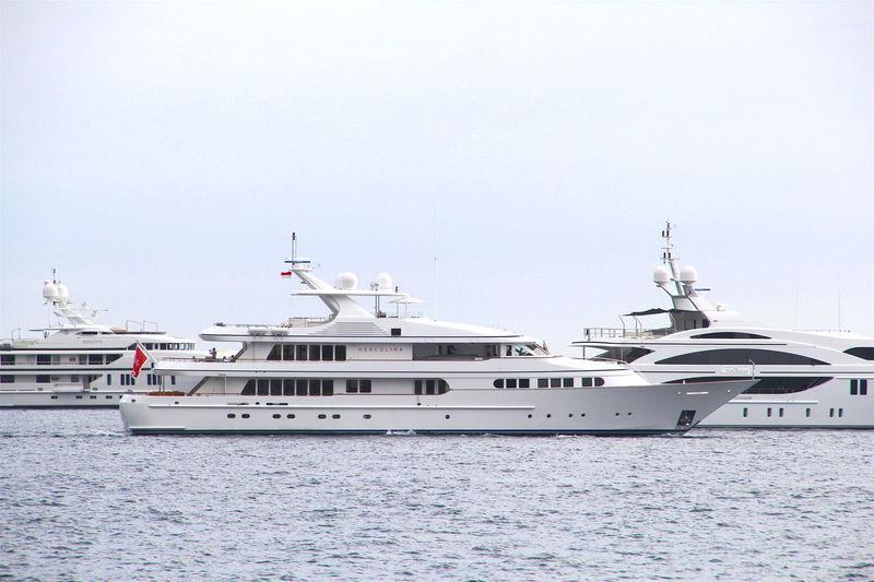Herculina off Monaco