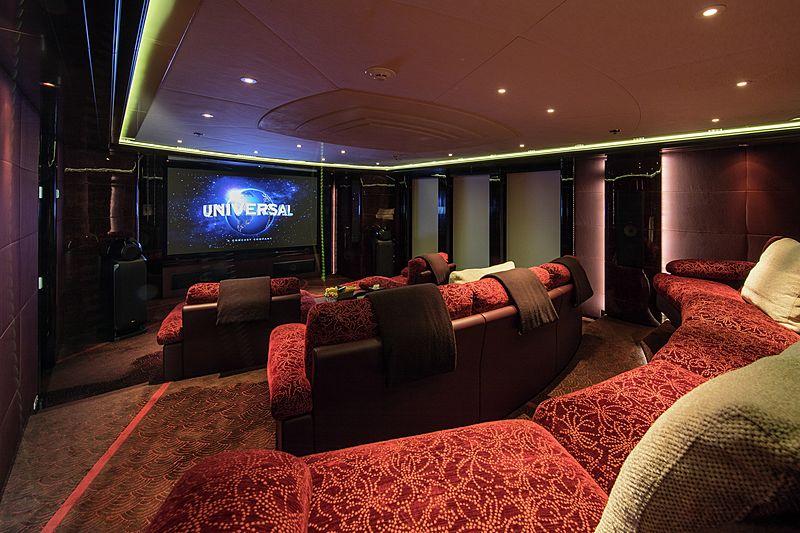 Eminence yacht cinema