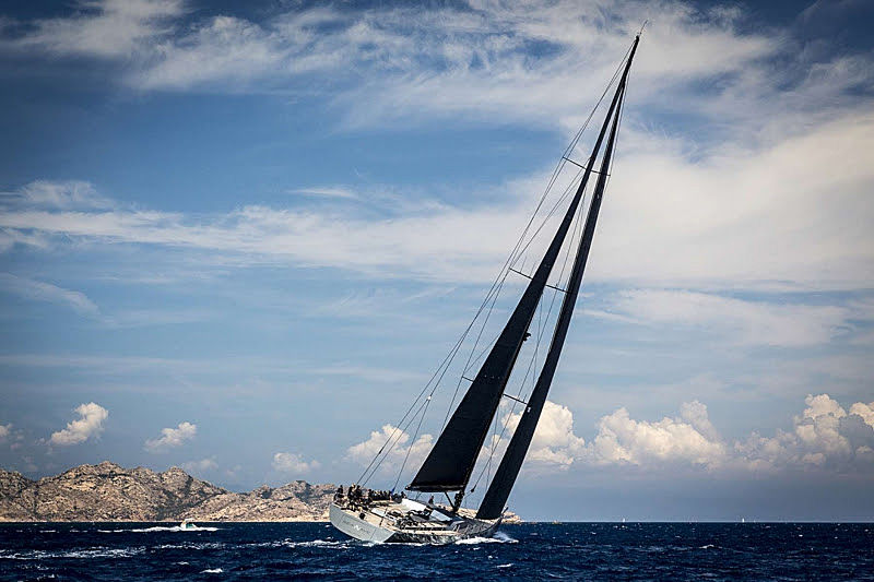 Seawave yacht at the Loro Piana Superyacht Regatta