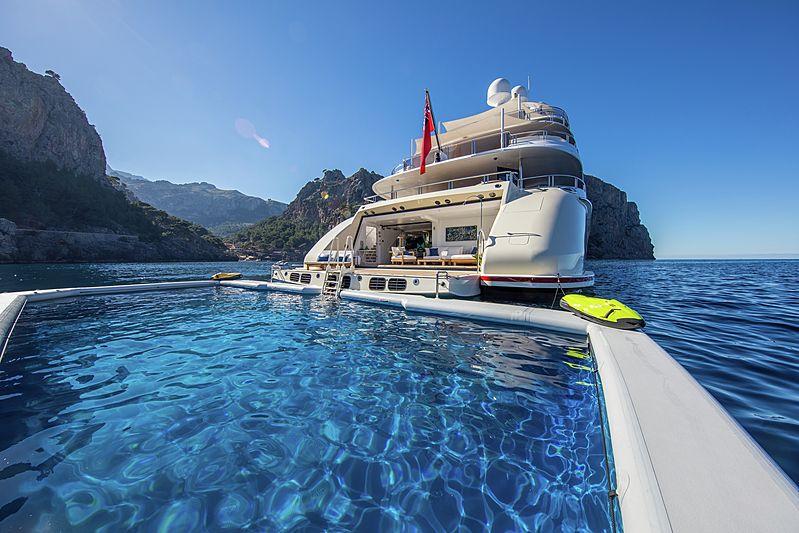Eminence yacht pool