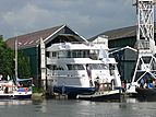 Perle Blue yacht launch in Monnickendam