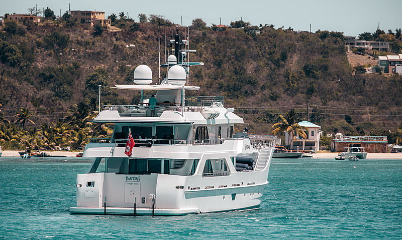 Batai yacht by Inace in Anguilla