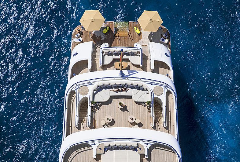 RoMEA yacht decks