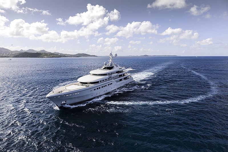 RoMEA yacht cruising
