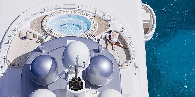 RoMEA yacht jacuzzi