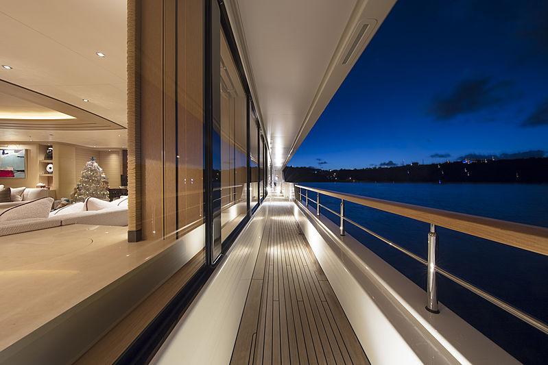 RoMEA yacht deck