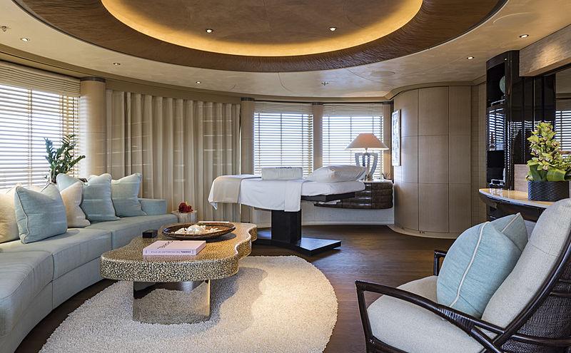 RoMEA yacht massage room