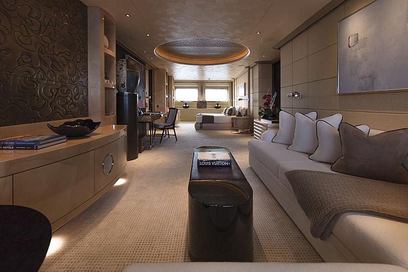 RoMEA yacht stateroom