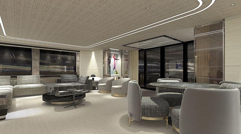 Baglietto 55m 10225 yacht interior design