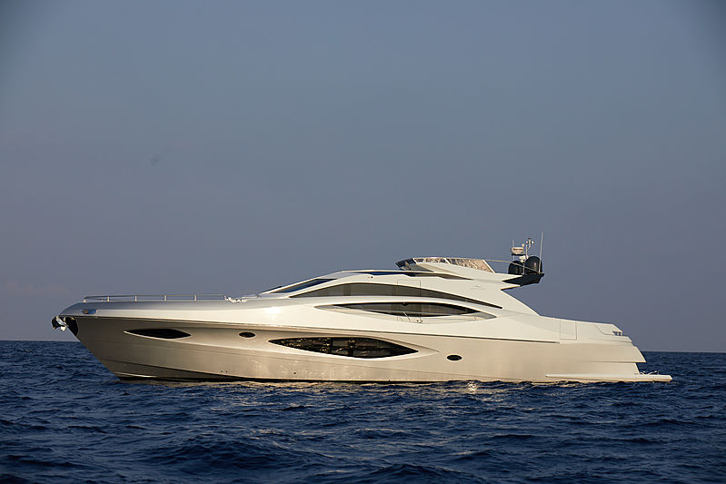 Adonis yacht anchored