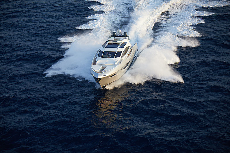 Adonis yacht cruising