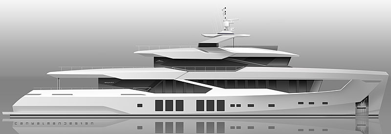Numarine 45XP exterior render