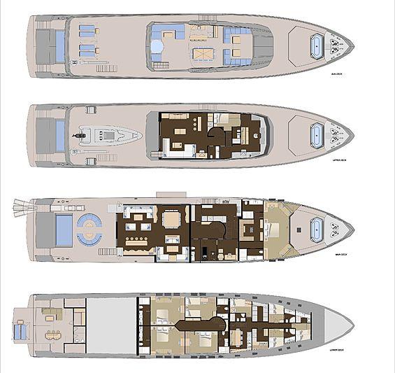 Numarine 45XP layout