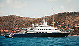 Limitless yacht anchored off St. Barths