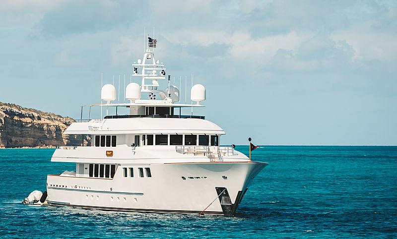 INGOT yacht Burger Boat Company
