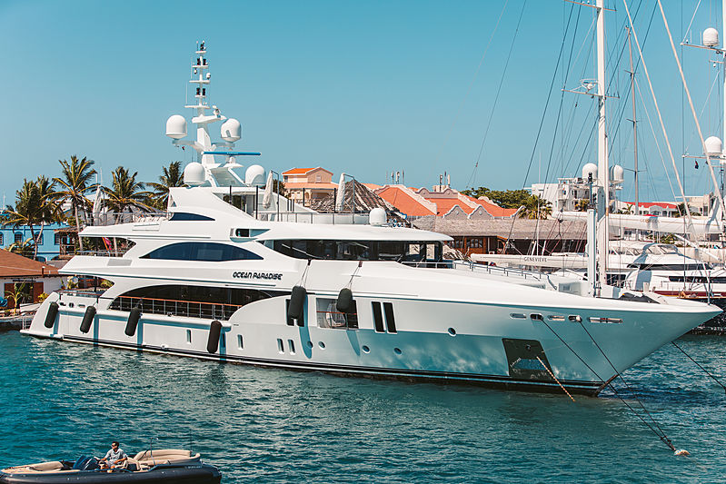 Ocean Paradise yacht at Simpson Bay