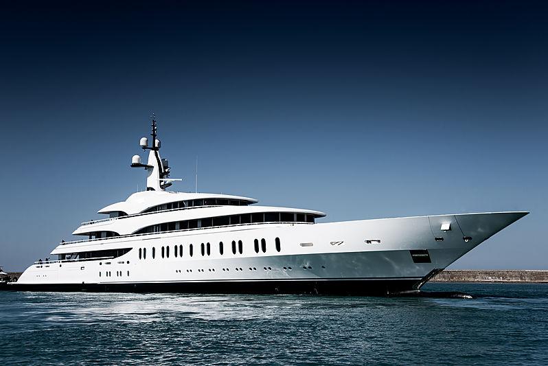 Benetti FB275 yacht launch in Livorno