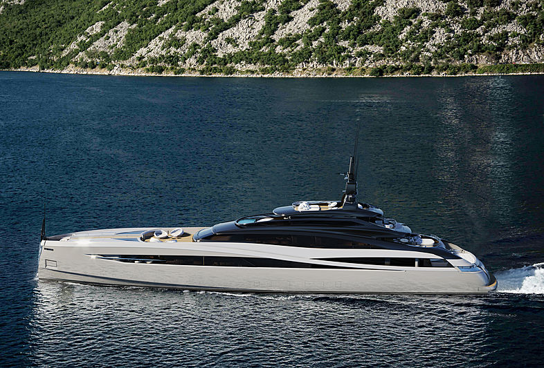 Rossi Navi Project Infinity exterior design