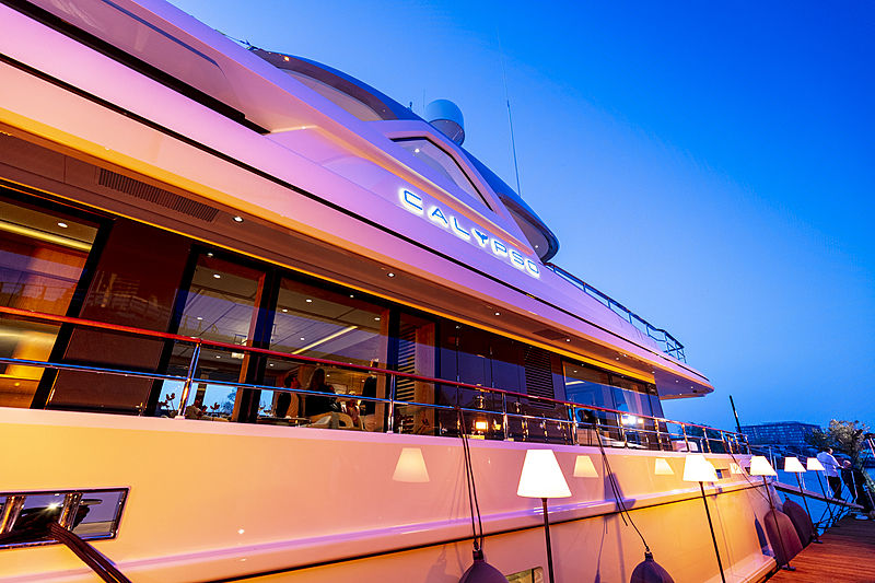 Calypso yacht delivery celebration