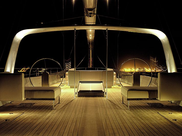 Ghost yacht deck