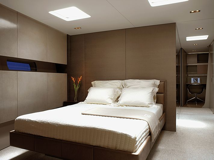 Ghost yacht stateroom