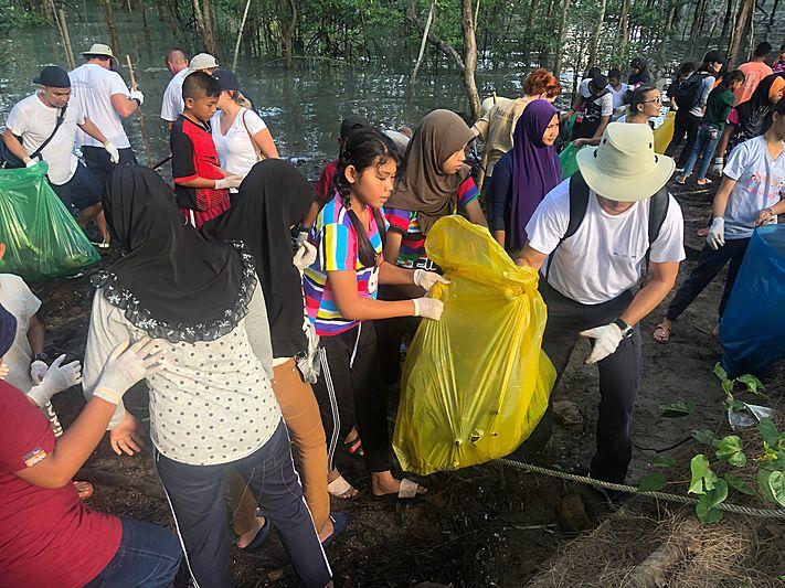 Ace Garcon Environmental clean-up