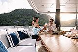 Lili yacht main aft deck