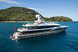 Lili yacht anchored